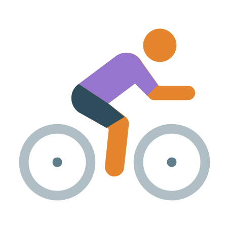Cycling Skin Type 3 icon in Color