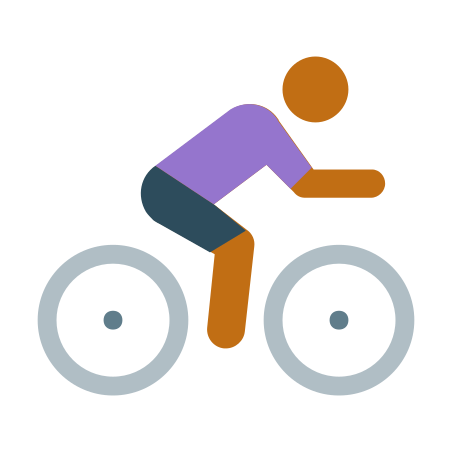 Cycling Skin Type 4 icon in Color