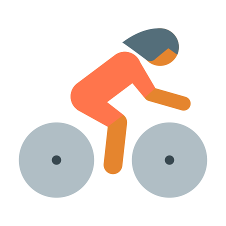 Cyclist Skin Type 3 icon in Color