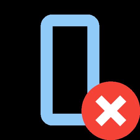 열 삭제 icon in 색상