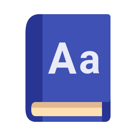 Dictionary icon in Color