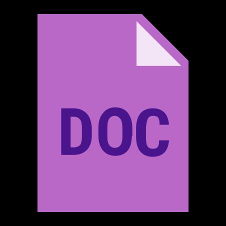 DOC icon in Color