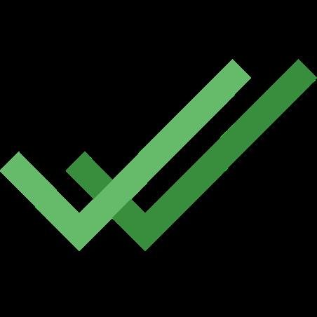 더블 틱 icon