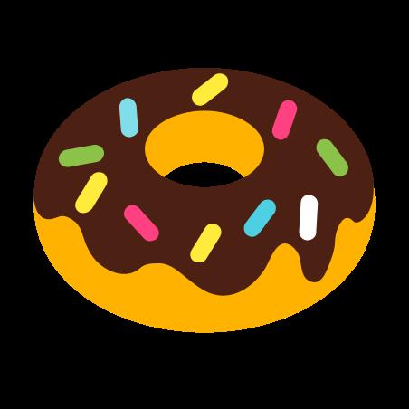 도넛 icon in 색상