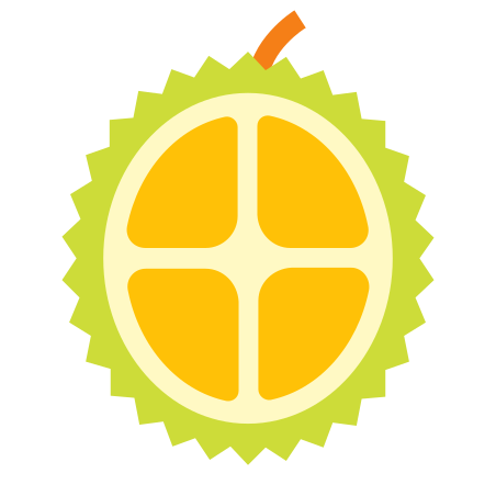 Durian icon in Color