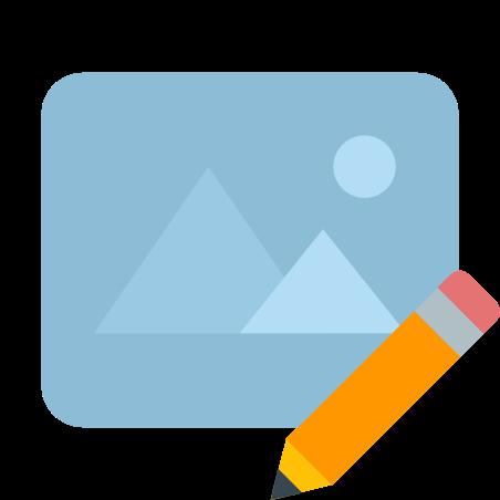 Edit Image icon in Color