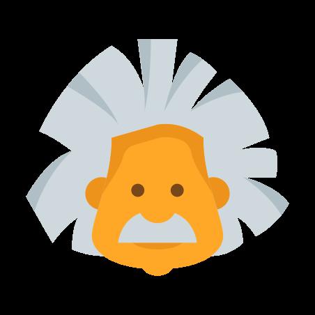 아인슈타인 icon in 색상