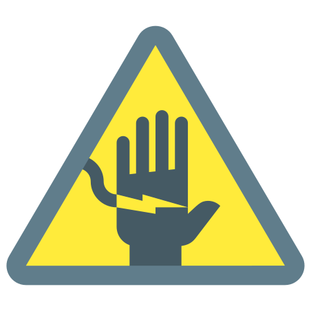 Electrical Shock Hazard icon