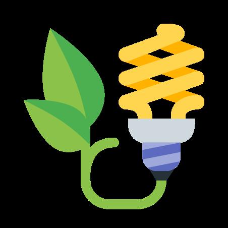 Energy Saving Bulb icon
