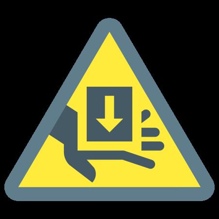 Entrapment Hazard icon in Color