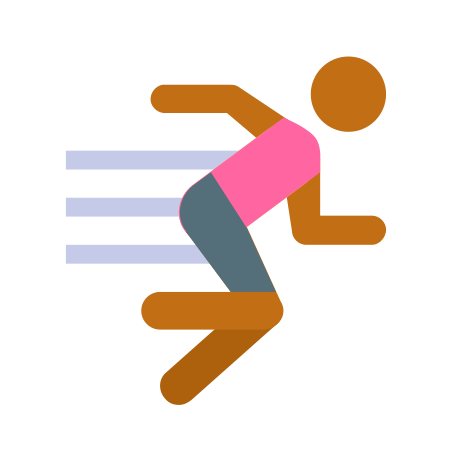 Exercise Skin Type 4 icon in Color