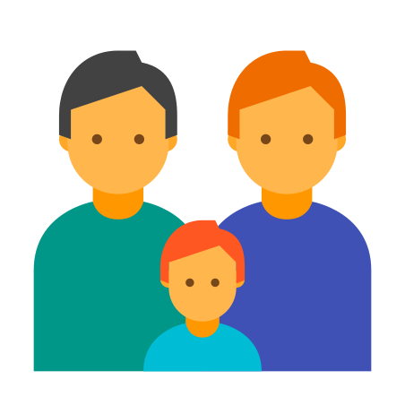 가족 두 남자 icon