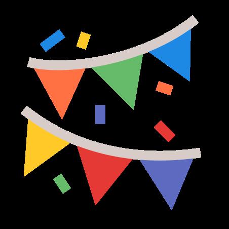 Festival icon in Color