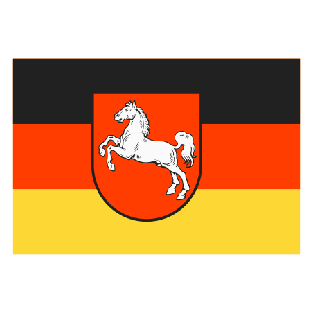 Flag of Lower Saxony on Land icon