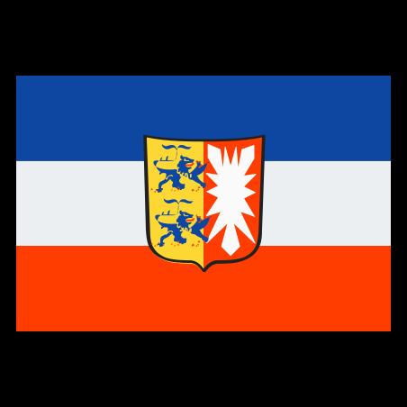 Flag of Schleswig Holstein icon