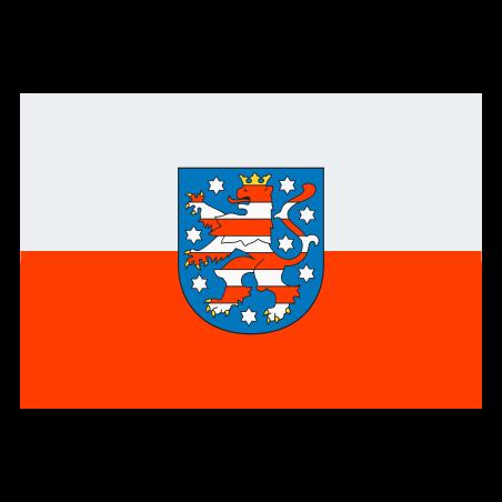Flag of Thuringia icon