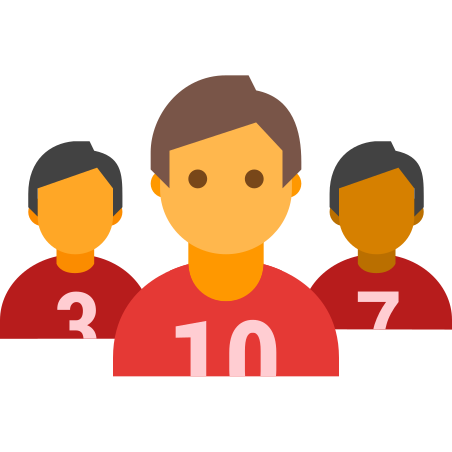 Football Team icon in Color