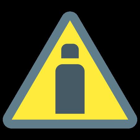 Gas Cylinders Hazard icon