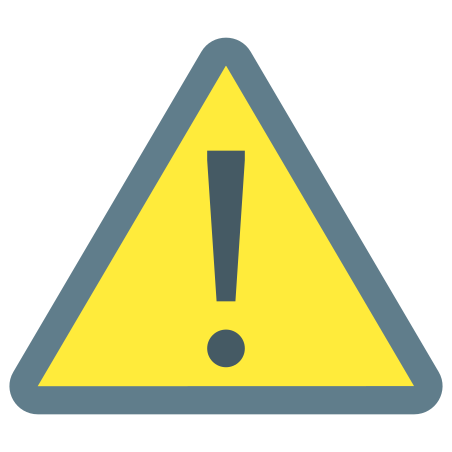 General Warning Sign icon