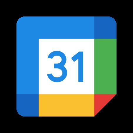 Google Calendar icon in Color