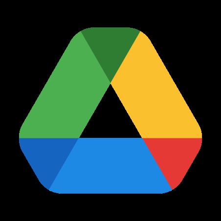 Google Drive icon in Color