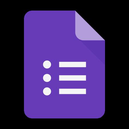 Google Forms New Logo icon
