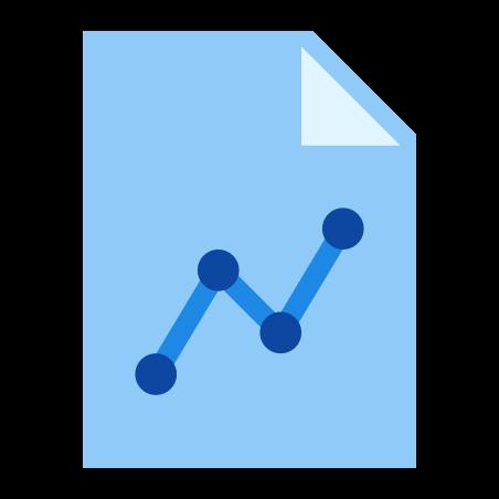 Graph Report icon in Color