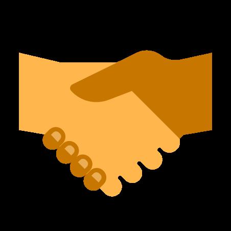 Handshake icon in Color