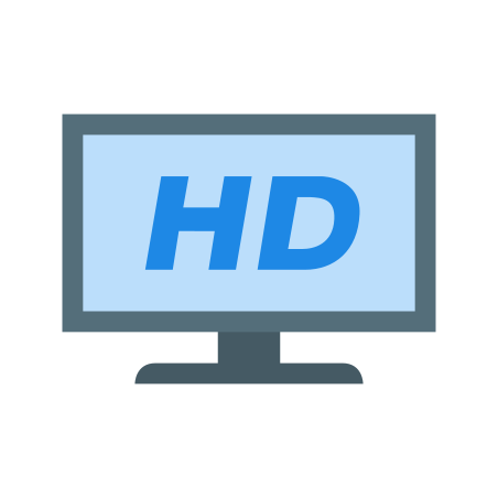 HDTV icon in Color