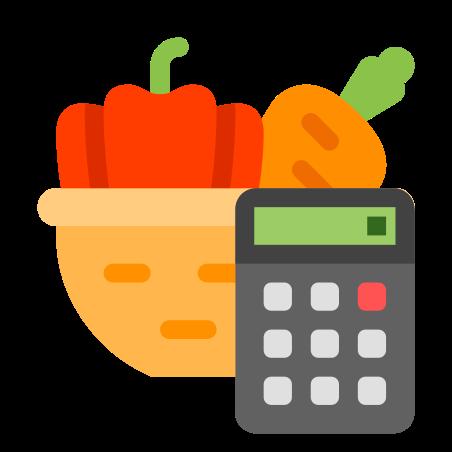 Healthy Food Calories Calculator icon
