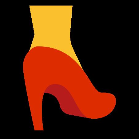 Heel icon in Color