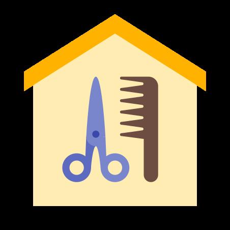 Home Salon icon in Color