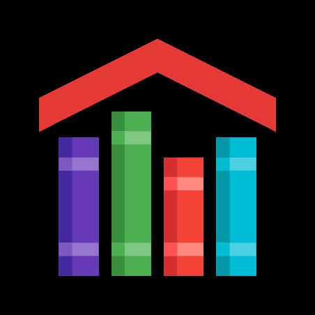 숙제 icon in 색상