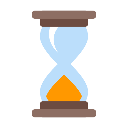 Sand Timer icon in Color