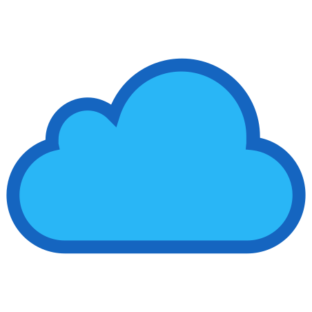 iCloud icon in Color