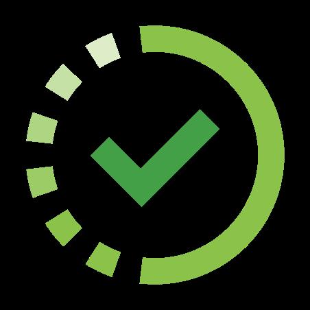 In Progress icon in Color