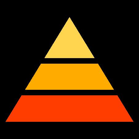정보 피라미드 icon