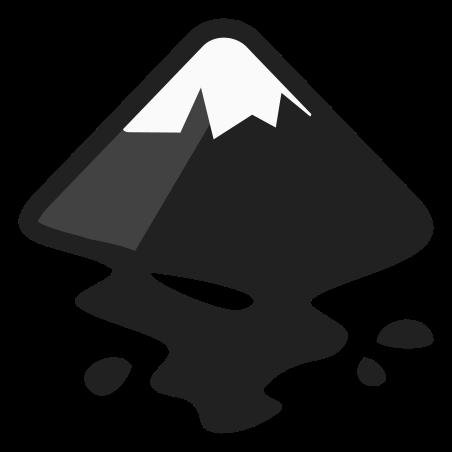 잉크 스케이프 icon in 색상