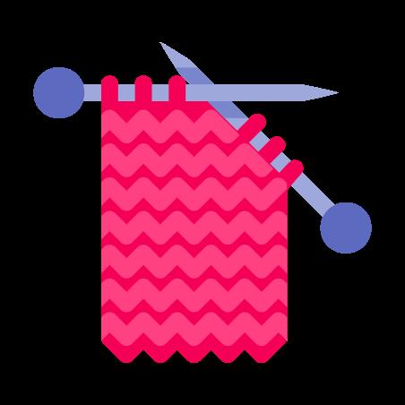 Knitting icon