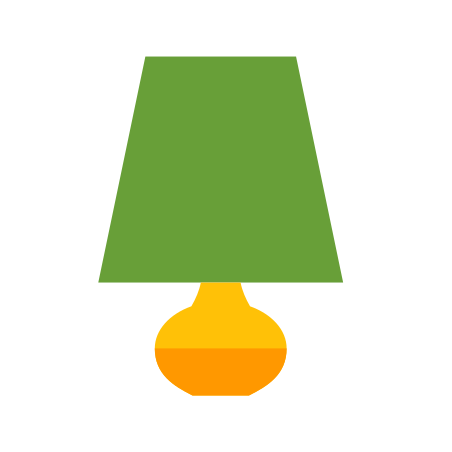 Lamp icon in Color