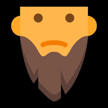 Barba larga icon