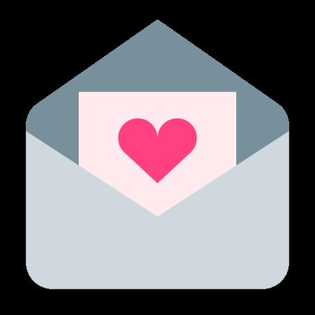 Love Letter icon in Color
