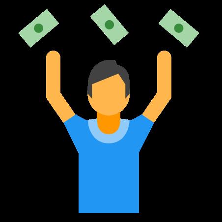 Man With Money icon