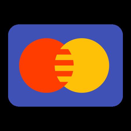 마스터 카드 icon in 색상