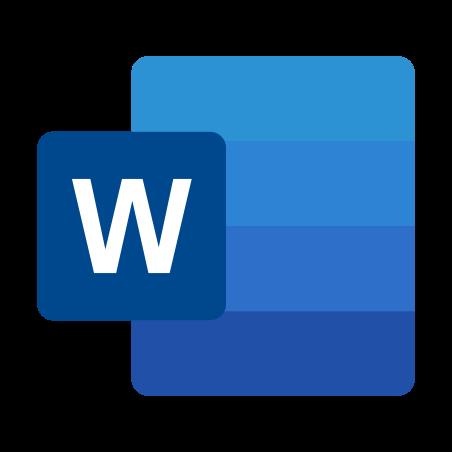 Icône Microsoft Word 2019 - Téléchargement gratuit en PNG et vecteurs