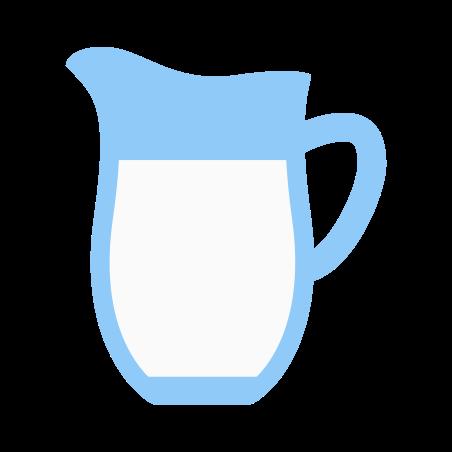 Milk icon in Color