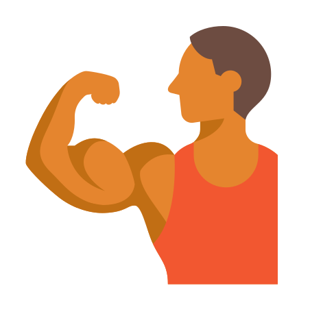 Muscle Flexing Skin Type 4 icon