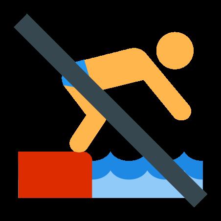 No Diving icon