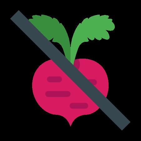 No Fructose icon in Color
