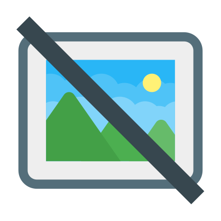 No Image icon in Color
